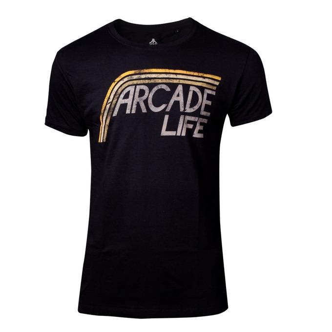Тениска Bioworld Atari - Arcade Life, размер XXL, черна image