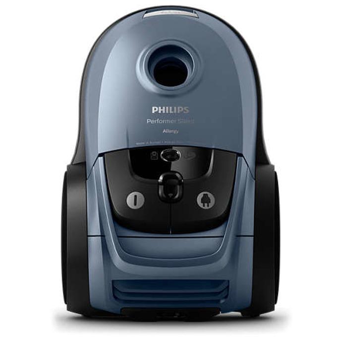 Прахосмукачка Philips Performer Silent FC8786/09 , с тобра, 650 W,, 4 л. капацитет на контейнера, енергиен клас А+, сива image