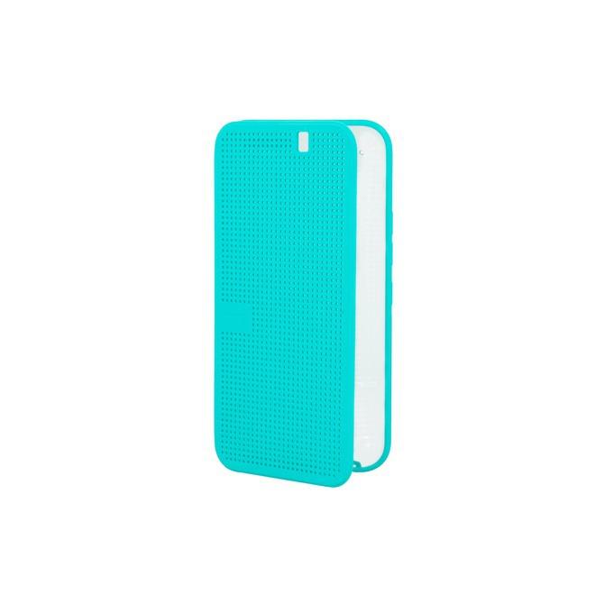 Калъф за HTC One M9, View II HC M232, отваряем, кожен, HTC, син image