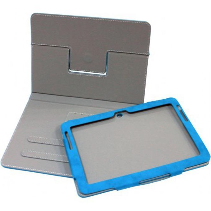 """Калъф S-P3201 за Samsung T210 Tab3 7""""(17.8 cm)-8"""" (20,32 cm), """"бележник"""", кожен, черен  image"""