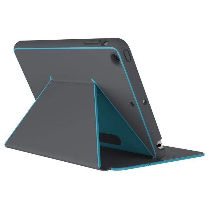 "Калъф тип ""бележник"" Speck DuraFolio за iPad Mini 4, Сив/Син image"