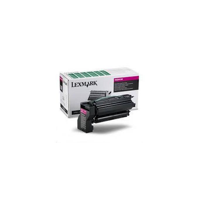 КАСЕТА ЗА LEXMARK C 752 - Magenta - Return program cartridge - P№ 15G041 M - заб.: 6000k image