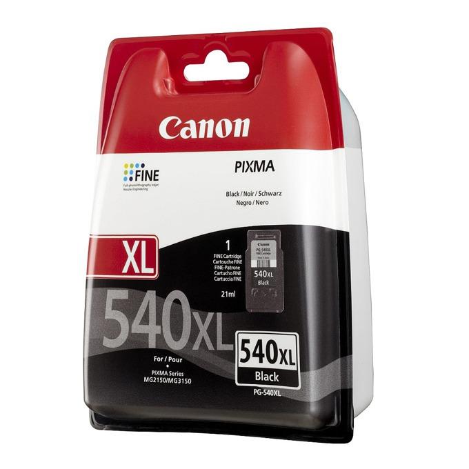 ГЛАВА CANON PIXMA MG2140/MG2150/MG3140/MG3150 - Black ink cartridge - P№ 5222B005/ PG-540XL - заб.:21 ml. image