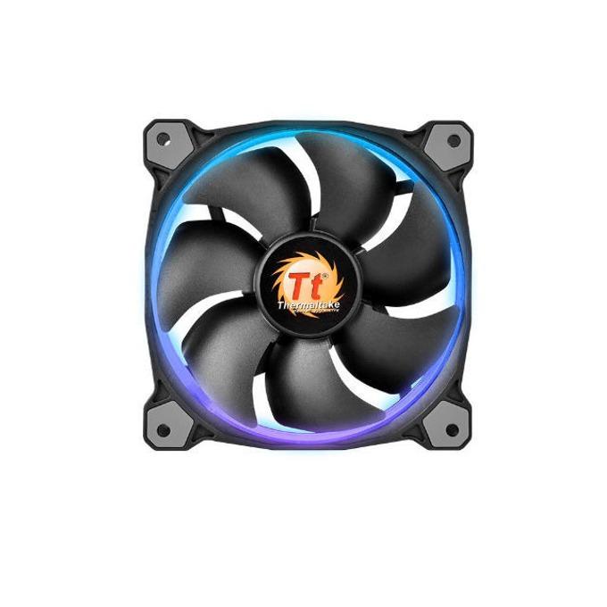 Вентилатор 120mm Thermaltake Riing 12 LED RGB, 4-пинов, 1500 rpm image
