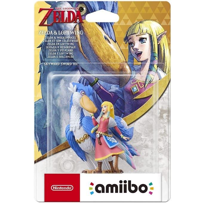 Nintendo Amiibo - Zelda and Loftwing [SS HD] product