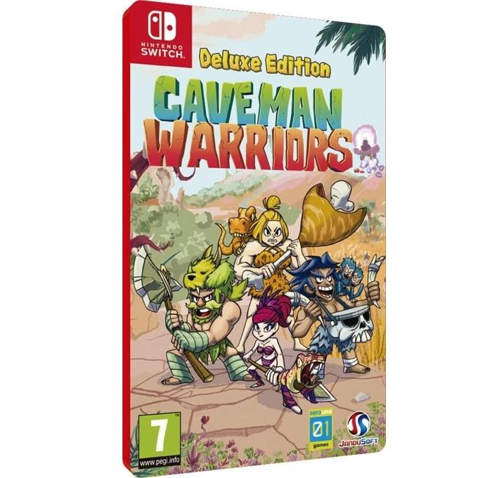Игра за конзола Caveman Warriors Deluxe Edition, за Nintendo Switch image