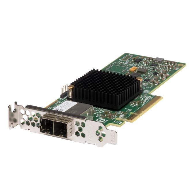 Контролер LSI SAS 9300-8e, PCIe 3.0 към 2x Mini-SAS HD SFF8644, SATA/SAS 6Gb/12Gb/s, 2 портов(до 8 устройства), Fusion MPT 2.5 image