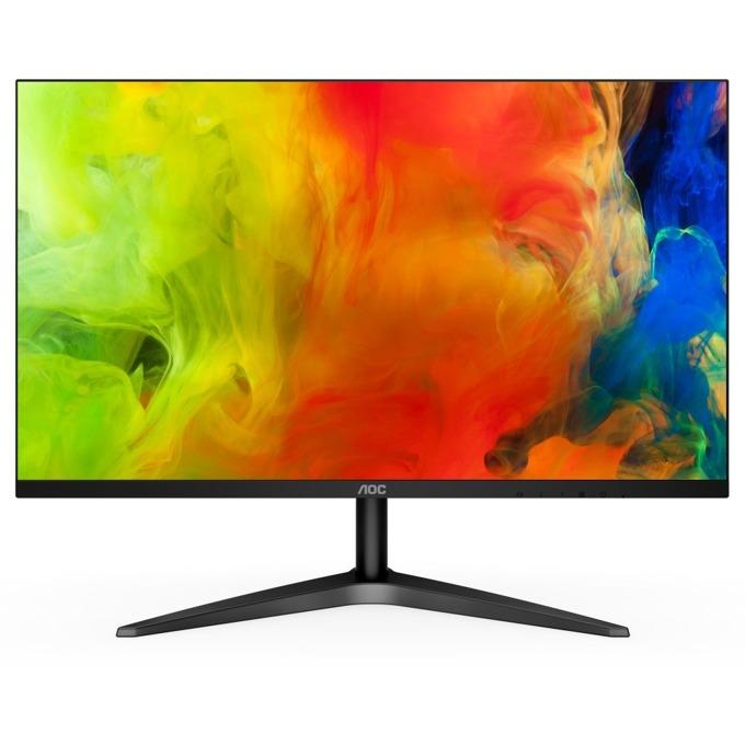 """Монитор AOC 24B1XH, 23.8""""(60.45 cm) IPS панел, Full HD, 7ms, 20M:1, 250 cd/m2, HDMI, VGA image"""