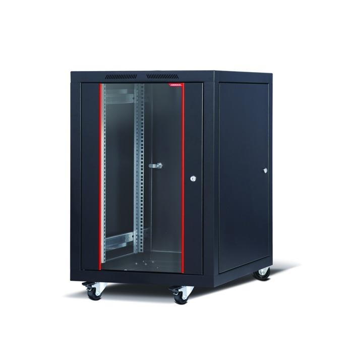 "Комуникационен шкаф Formrack CSM-20U6060, 19"", 20U, 600 x 600 mm, черен image"
