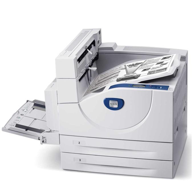 Xerox Phaser 5550DN, А3, монохромен лазерен принтер , 50стр/мин, 1200x1200dpi, 256MB, Duplex, LAN, Parallel & USB, 1 г. image