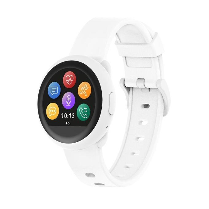 Смарт часовникMyKronoz ZeRound3 Lite, водоустойчивост, тъчскрийн, аларма, измерване на разстояние/изгорените калории/пулс, мониторинг на съня, Bluetooth 4.2, Android, бял image