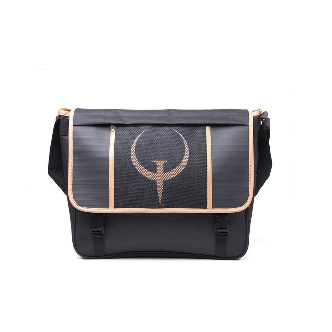Чанта Bioworld Quake - Messenger Bag Black, черна image