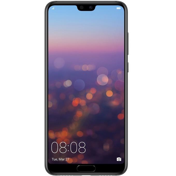 "Huawei P20 Pro, тъмно син, Dual SIM, 6.1"" FHD 2244x1080, Kirin 970 Octa-core+ i7 co-processor(4x2.36GHz Cortex A73&4x1.8 GHz Cortex-A53), 6GB RAM, 128GB вградена памет, тройна камера leica 40MP+20MP+ 8MP+24MP предна камера, Android 8.1, WiFi 802.11ac image"