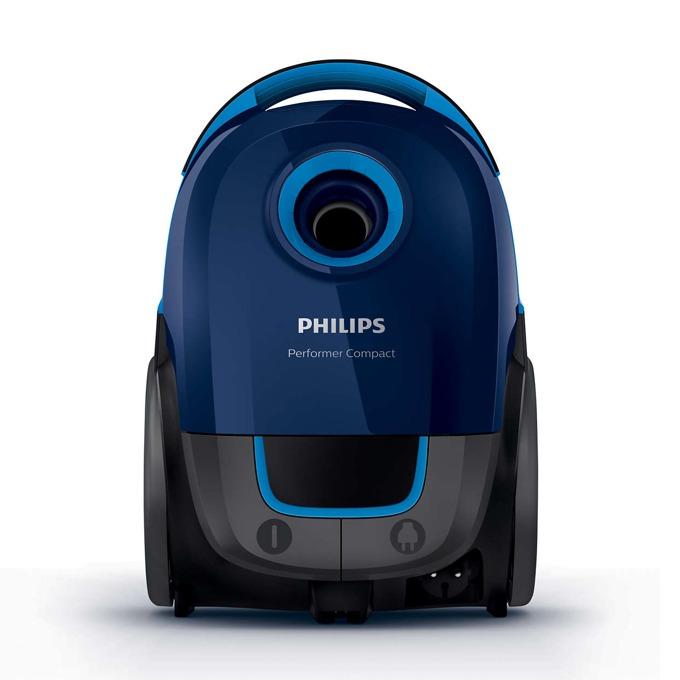 Прахосмукачка Philips Preformer Compact FC8375/09, с торба, 750 W, 3 л. капацитет на торбата, енергиен клас A, AirflowMax технология, синя image