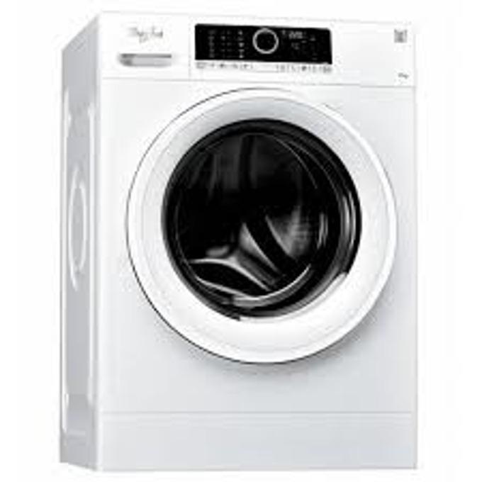 Перална машина Whirlpool FWD91496WSEU, A+++, 9 кг. капацитет, 1400 оборота в минута, свободностояща, 60 cm. ширина, сензор за водната струя за оптимално разходване на вода, функция 6-то чувство, бяла image