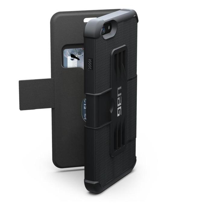 Поликарбонатов протектор Urban Armor Scout за iPhone 6 (черен), удароустойчив image