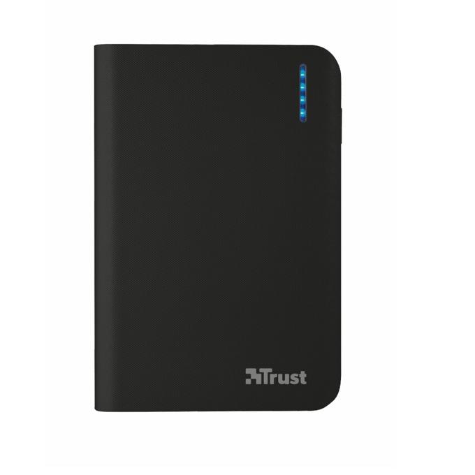Външна батерия/power bank Trust Primo PowerBank 8800, 8800mAh, черна image