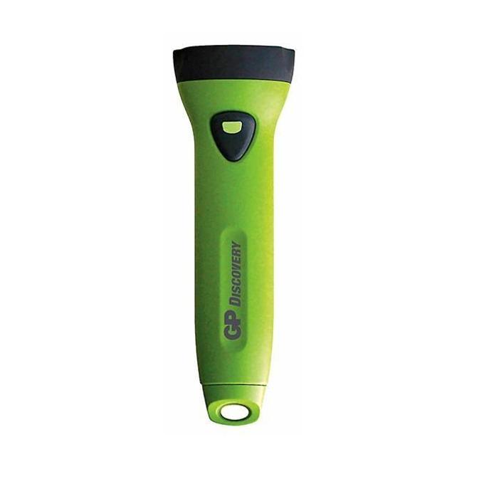 Фенер GPL071 HOME, 2x АА батерии, удароустойчив, ръчен, зелен image