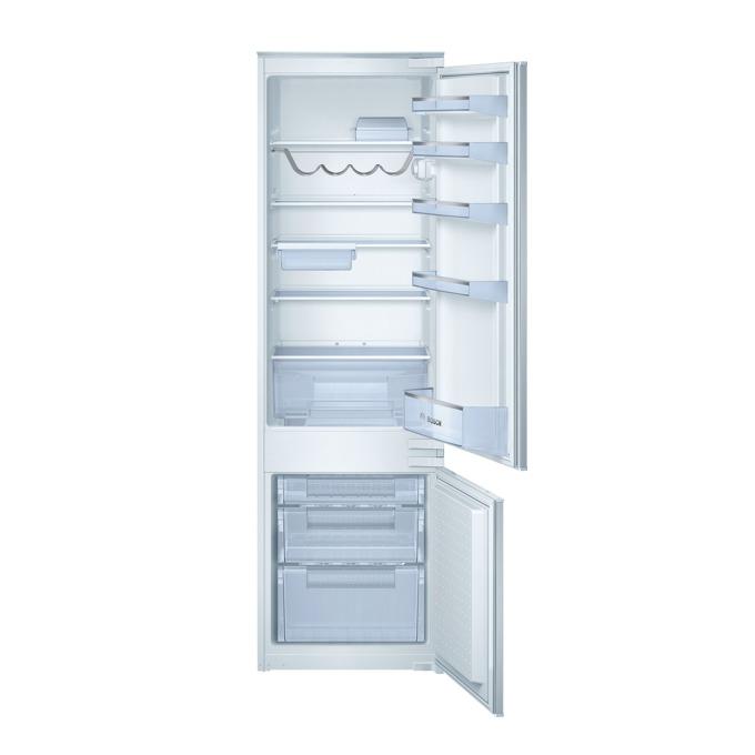 Хладилник с фризер Bosch KIV38X20, клас А+, 276 л. общ обем, за вграждане, 275 kWh/годишно, MultiBox, SafetyGlass полици, бял  image