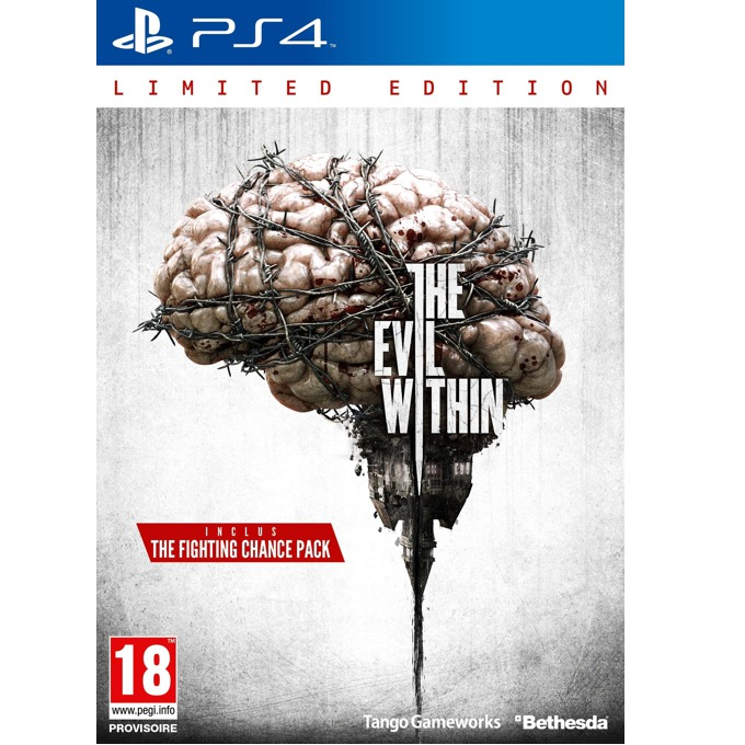 Игра за конзола The Evil Within Limited Edition, за PS4 image