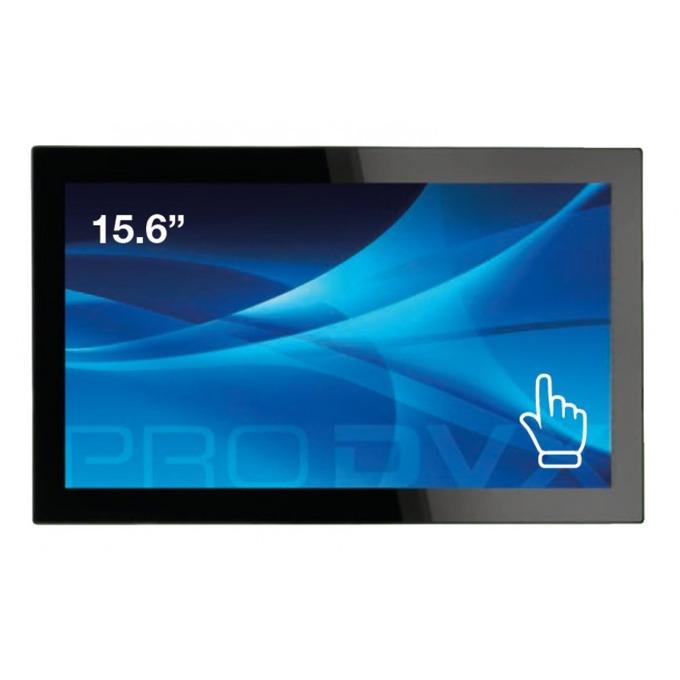 """Монитор ProDVX TMP-15, 15.6""""(39.624 cm) тъч панел, Full HD, HDMI, USB image"""