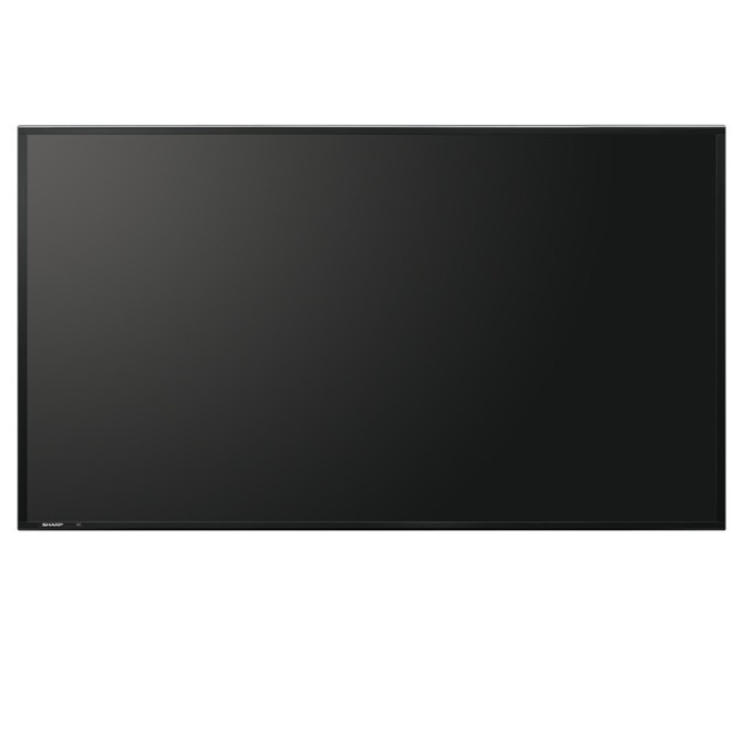 "Публичен дисплей SHARP PNE603, 60""(152.4 cm), Full HD, VGA, HDMI, DVI-I, DisplayPort, RS232, USB, LAN, черен image"
