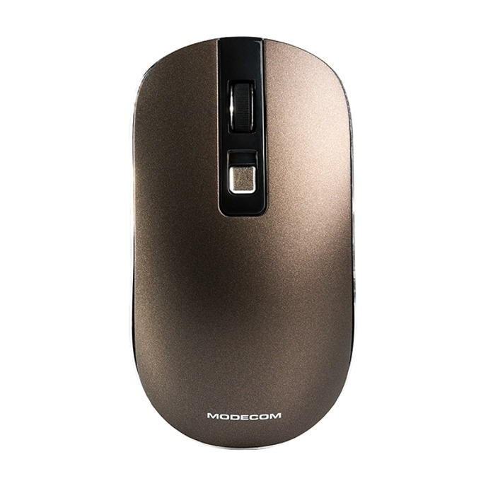 Мишка Modecom MC-WM101, оптична(1600 dpi), безжична, кафява image