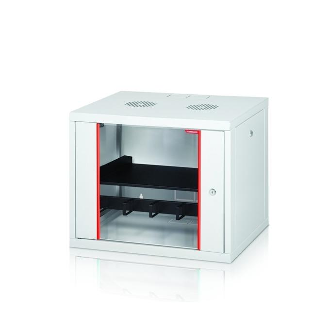 """Комуникационен шкаф Formrack GLD-12U450/ALFA-12U450, 19"""", 12U, 555 x 450 mm, бял image"""