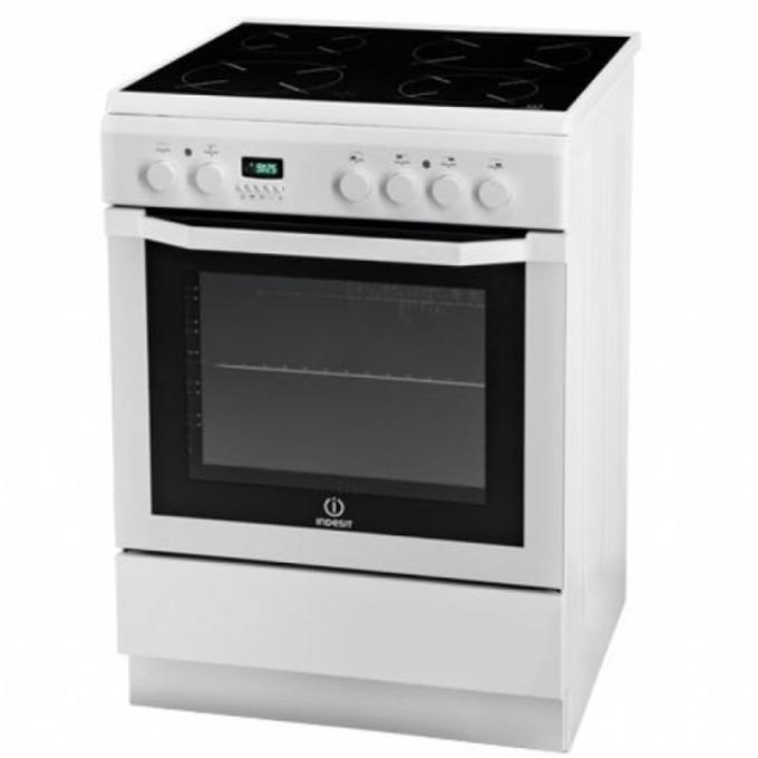 Готварска печка Indesit I6VMC6A(W)GR, клас А, 61л. общ обем, 7 функции на фурната, инокс image