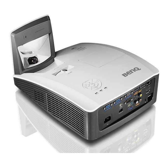 Проектор BenQ MW855UST, DLP, WXGA (1280 x 800), 10 000:1, 3500lm, HDMI, VGA image