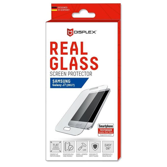 Протектор от закалено стъкло /Tempered Glass/ Displex Protector 2D, за Samsung Galaxy J7 2017 image