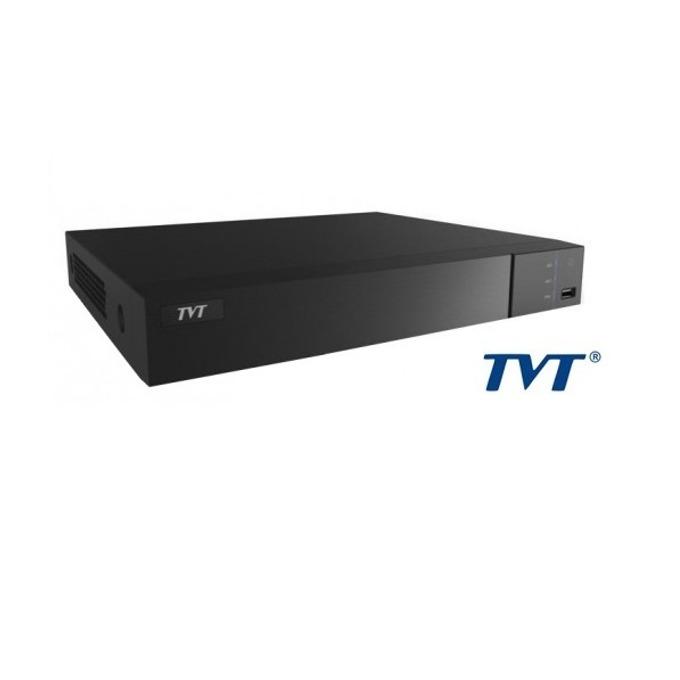 Хибриден видеорекордер TVT TD2716TE-C, 16 канален, H.264, 2x SATA(до 2x 6TB), 2x USB 2.0, 1x LAN10/100, 1x HDMI, 1x VGA, 1x RS485 image