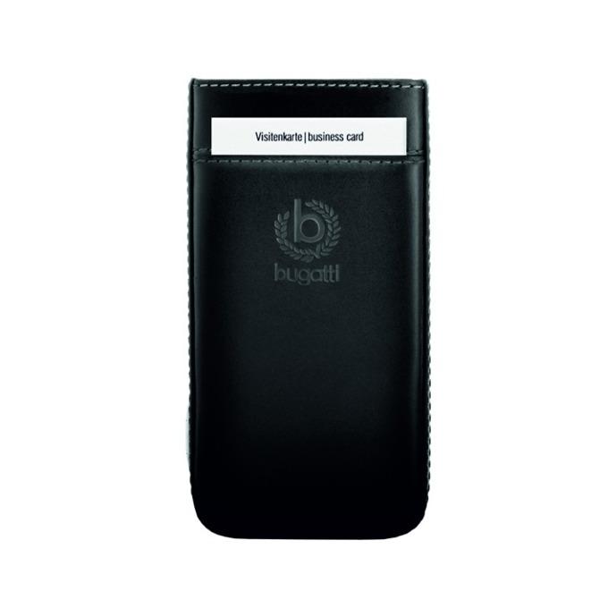Калъф за Sony Xperia Z1 Compact, естествена кожа, Bugatti Perfect Premium, черен image