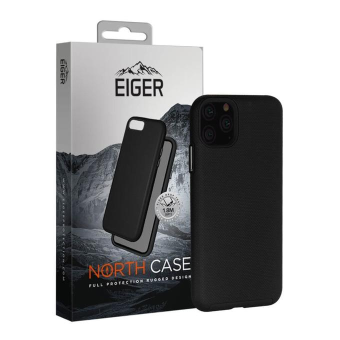Калъф за Apple iPhone 11 Pro Max, хибриден, Eiger North EGCA00150, удароустойчив, черен image