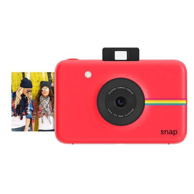 Фотоапарат Polaroid SNAP, 10.0 Mpix, MicroSD слот, 1080p видео резолюция, червен image