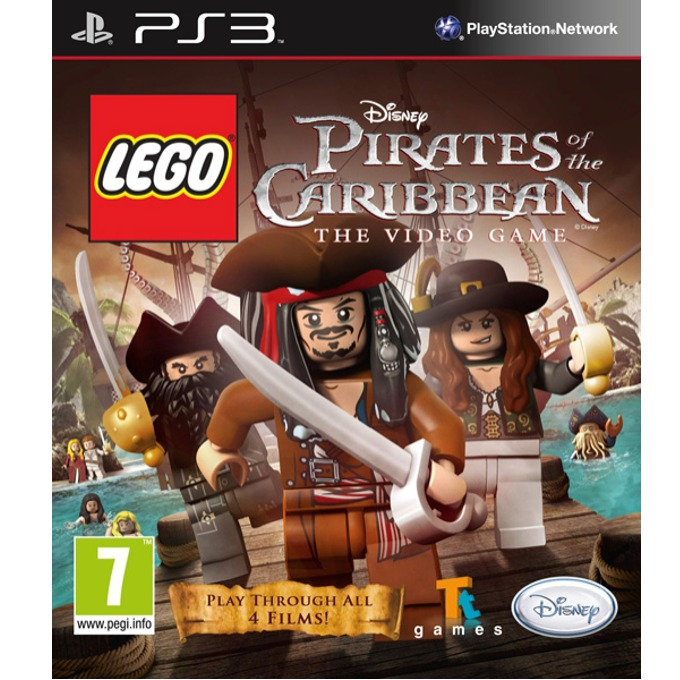 Игра за конзола LEGO Pirates of the Caribbean: The Video Game, за PlayStation 3 image
