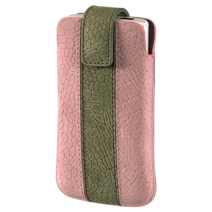 """Калъф за мобилен телфон, джоб, кожен, HAMA """"Chic Case""""(109343), розов image"""