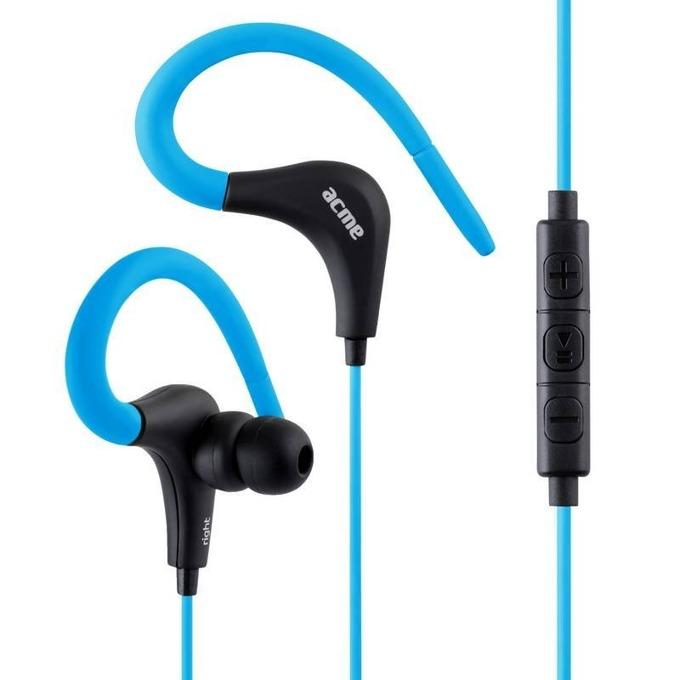 Слушалки ACME HE-17B, микрофон, 20–20 000 Hz, 3.5mm жак, сини image