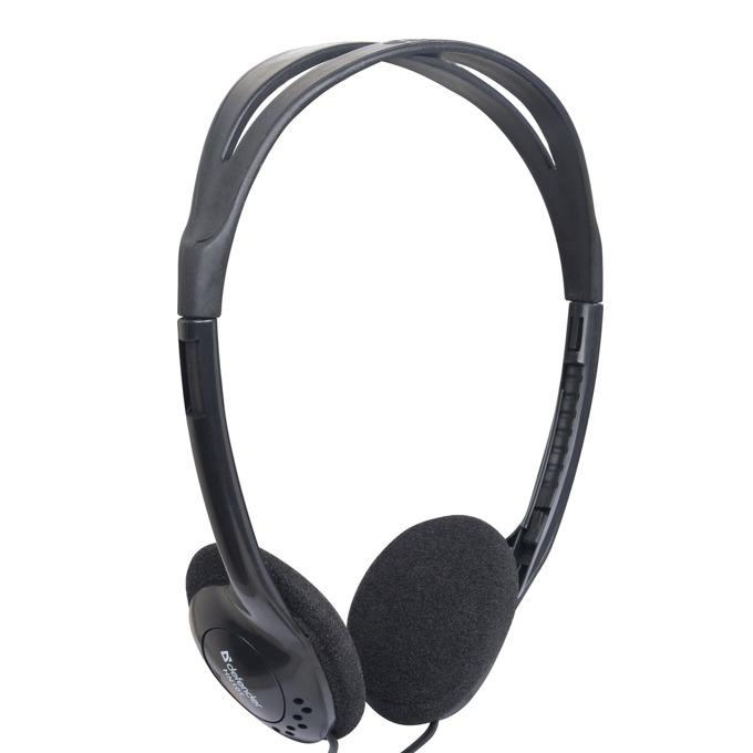 Слушалки Defender Aura 101, регулиране на звука, 3.5mm jack, черни image