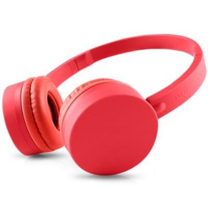 Слушалки ENERGY BT1 BLUETOOTH, микрофон, Bluetooth 3.0, USB, червени image