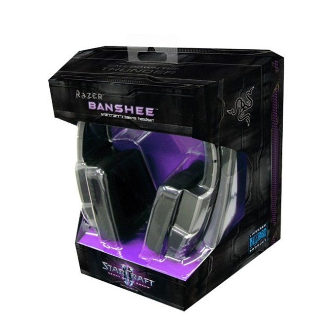 Слушалки Razer Banshee StarCraft II Edition, микрофон, USB image