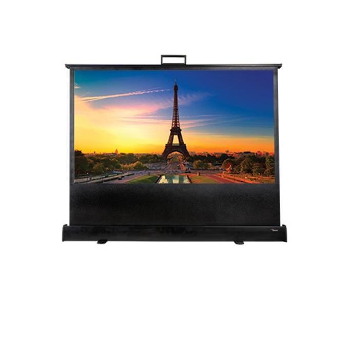"""Екран Optoma DP-9046MWL, на стойка, бял мат, 1066 x 802, 46"""" (116.84 cm), 16:9 image"""