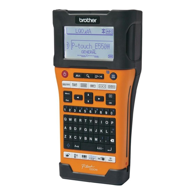 Brother PT-E550WVP Handheld Industrial Labelling