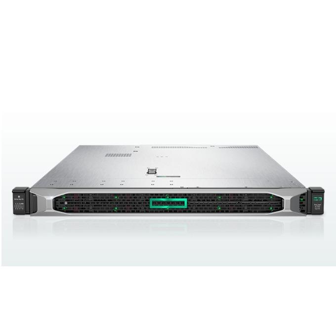 Сървър HPE DL360 G10 (867963-B21), 2x дванадесетядрени Skylake Intel Xeon Gold 5118 2.3/3.2 GHz, 32GB RDIMM DDR4, No HDD, 4x 1GbE LAN, 5x USB 3.0, без OS, 2x 800W image