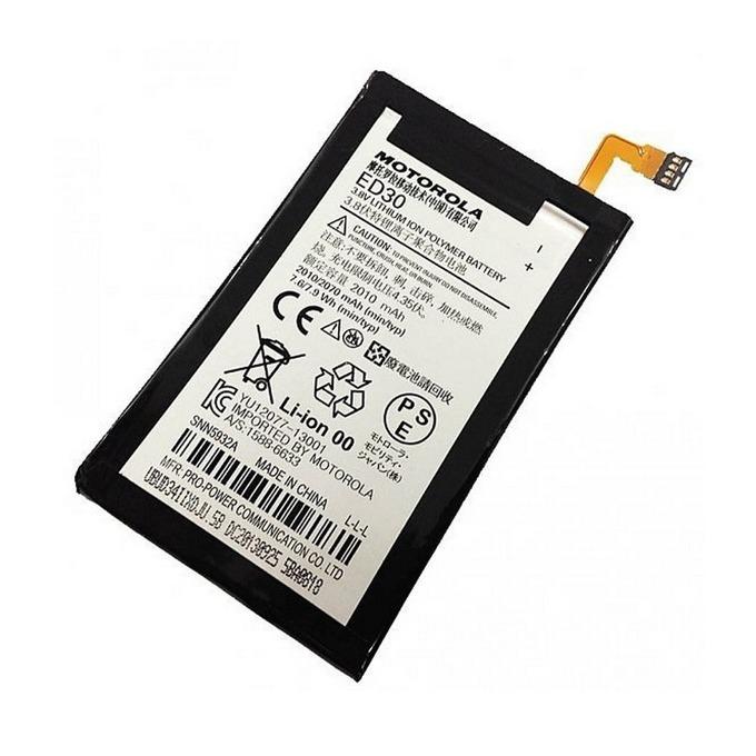 Батерия (оригинална) Motorola ED30, за Motorola Moto G, 2010mAh/3.7V, Bulk image