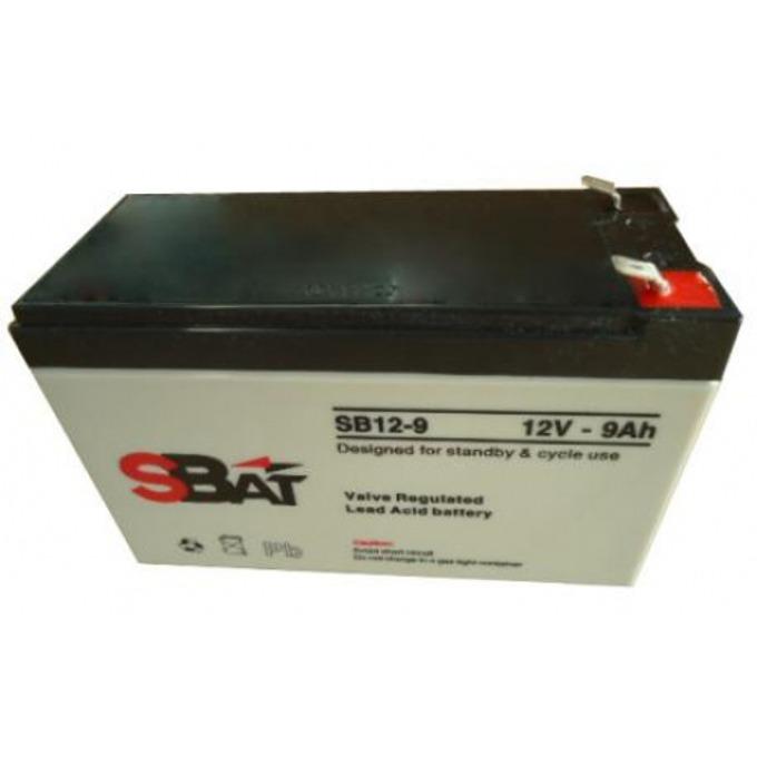 Акумулаторна батерия SBat SB12-9, 12V, 9Ah image