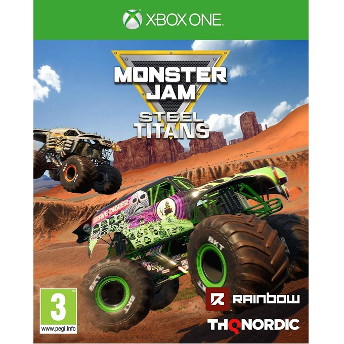 Игра за конзола Monster Jam Steel Titans, за Xbox One image