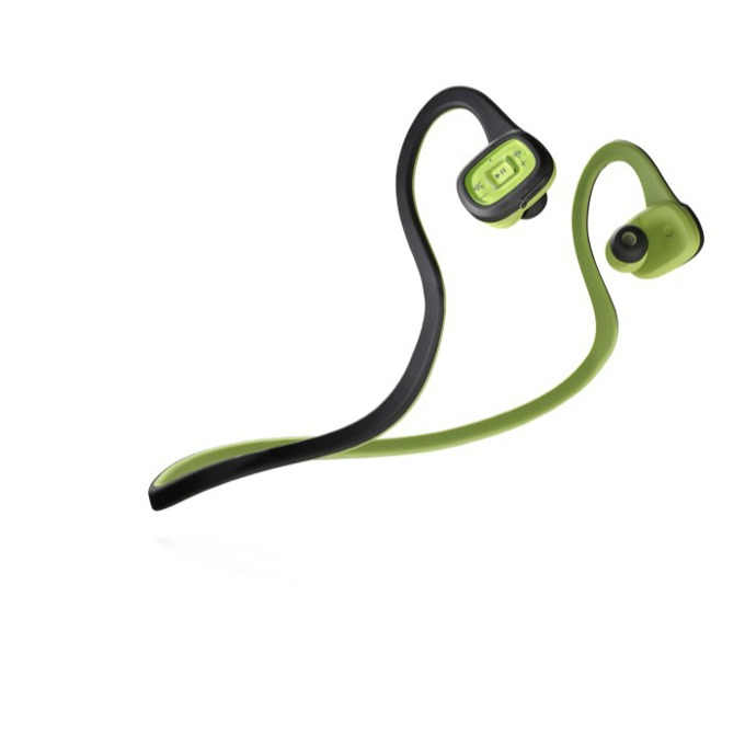 Слушалки Cellular Line Scorpion In-ear Pro, Bluetooth, микрофон, Микро USB port, Led индикатор, Контрол пане, олекотени, зелени image