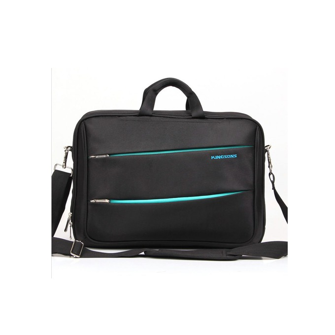 "Чанта Kingsons ""Zipped"" K8377W за лаптоп до 15.6"" (39.6cm), черна image"
