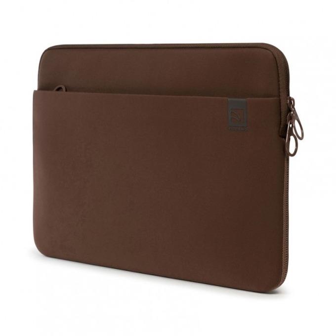 """Калъф за лаптоп Tucano Top Second Skin, до 15.0"""" (38.10cm), проектиран за MacBook Pro, неопрен, кафяв image"""